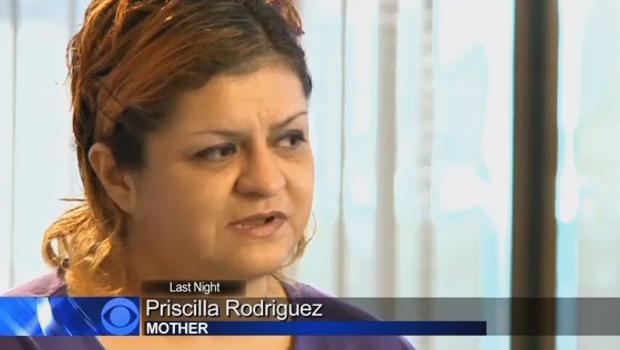 Leila Fowler的亲生母亲,Priscilla Rodriguez