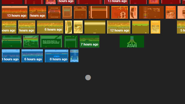 Play Atari \u0026quot;Breakout\u0026quot; in Google image search