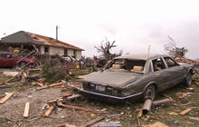 Texas tornadoes leave path of destruction