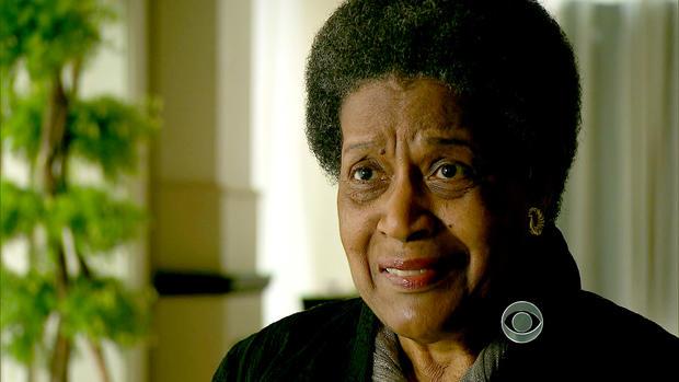 Myrlie Evers,60年代民权活动家Medgar Evers的妻子。