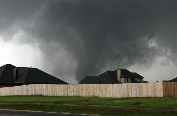 Twisters touch down in the Midwest