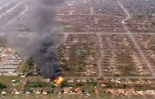 Severe tornado tears through Oklahoma City suburb