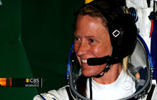 Astronaut mom arrives on International Space Station
