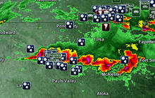 Tornadoes continue in middle of country