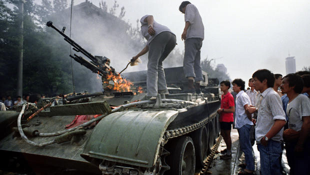24th anniversary of Tiananmen Square protests of 1989