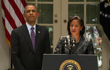 "Susan Rice ""humbled"" by chance to lead Obama's national security team"