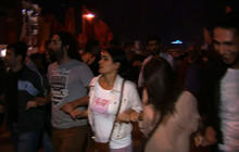 Turkish protesters say they are fighting PM's Islamic views