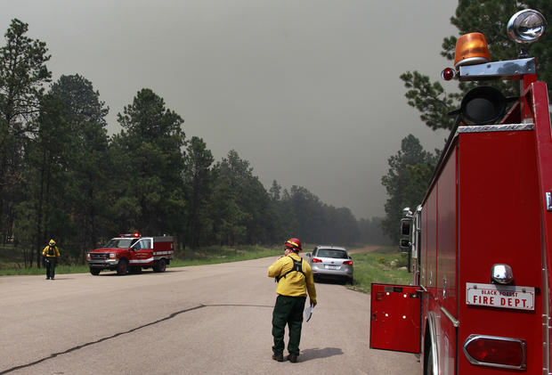 Wildfires rage in Colorado