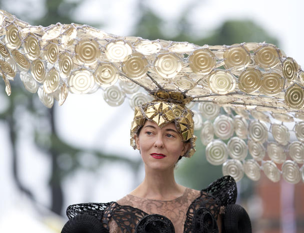 Holy cap! Hats of the Royal Ascot