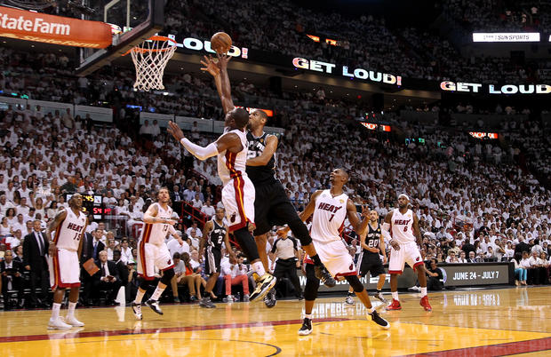 Game 7: Miami Heat beat San Antonio Spurs