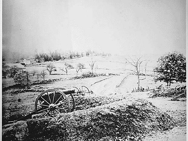 Gettysburg pictures from the National Archives