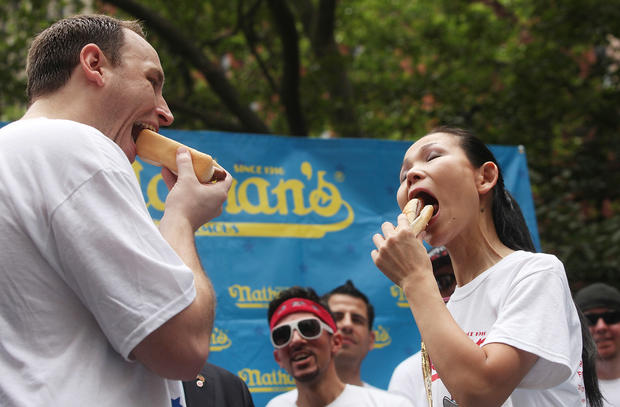 Hot dogs, pies, pinto beans  - unusual July Fourth events