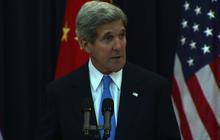 "Teresa Heinz Kerry ""doing better,"" emotional John Kerry says"