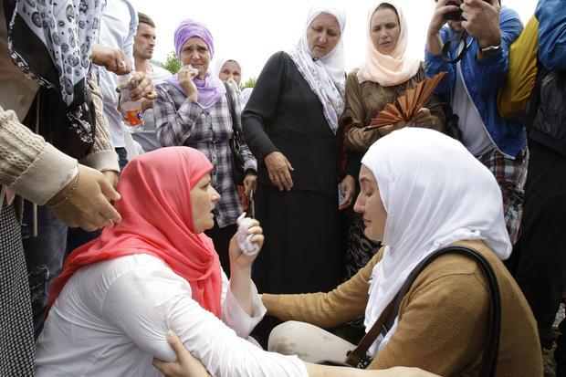 Srebrenica massacre victims remembered