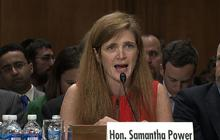 """Samantha Power: U.N. inaction in Syria """"a disgrace"""""""
