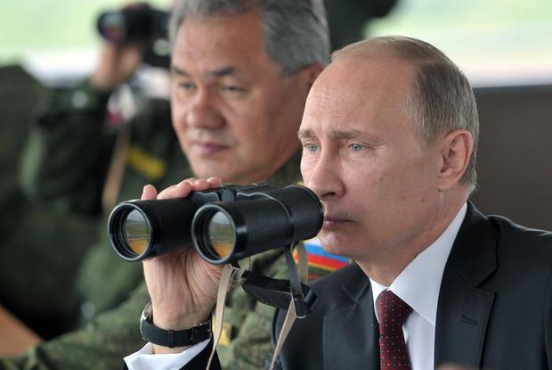 Russia's war games