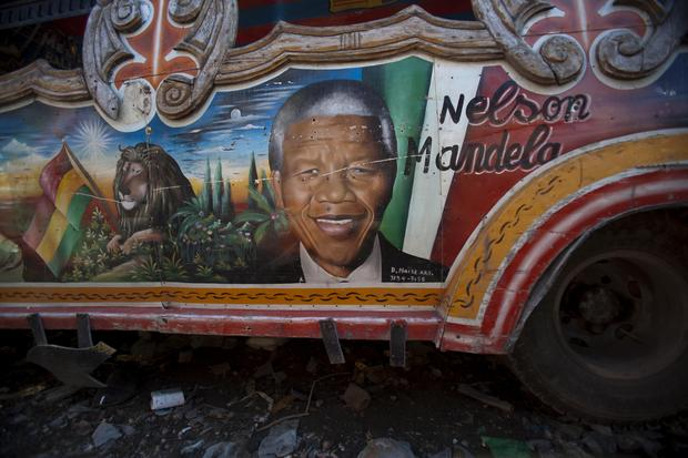Mandela as muse