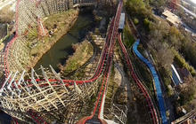 Raw video: Riding the Texas Giant roller coaster