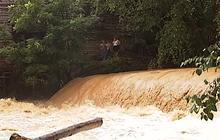 Heavy rain floods roads and homes in N.C.