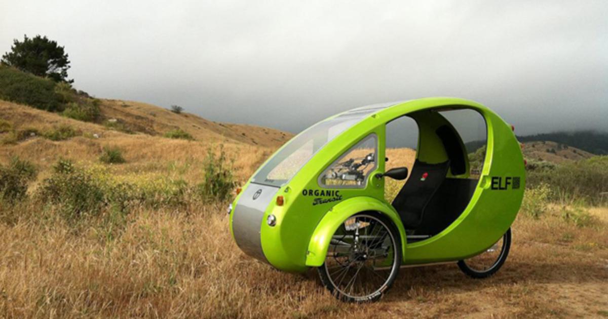 not a car not a bike they call it an elf cbs news. Black Bedroom Furniture Sets. Home Design Ideas