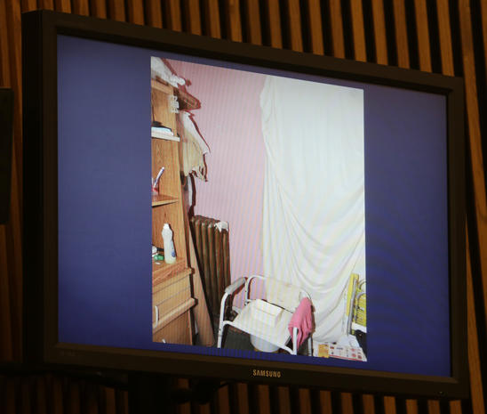 Disturbing new photos from inside Castro home
