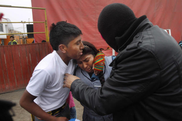 Ritual fighting in Peru