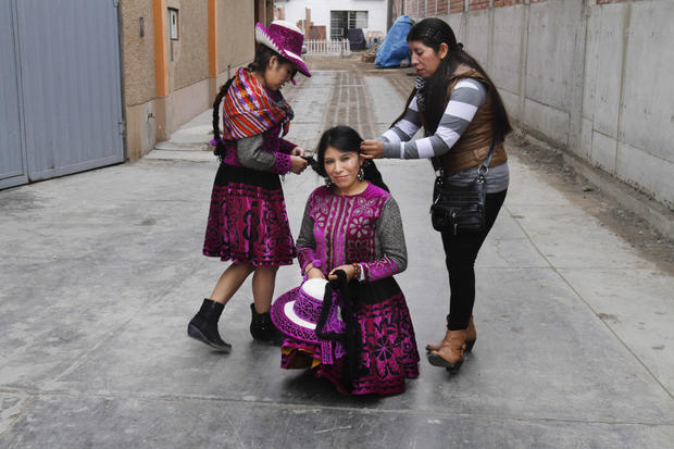 Ritual fighting in Peru