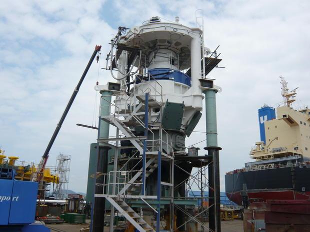 Building the world's 1st hybrid power turbine