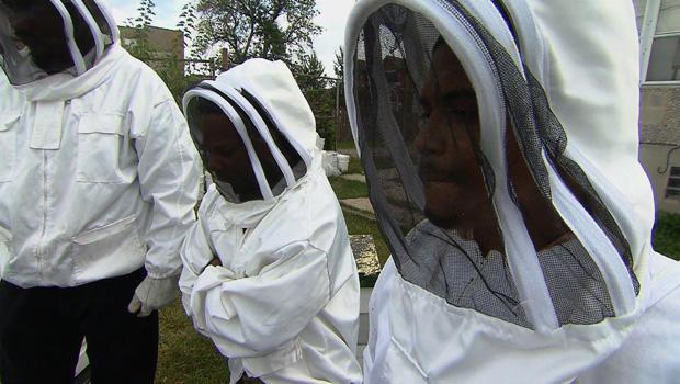 前囚犯为Sweet Beginnings生产蜂蜜,这是一家由Brenda Palms Barber创办的公司。