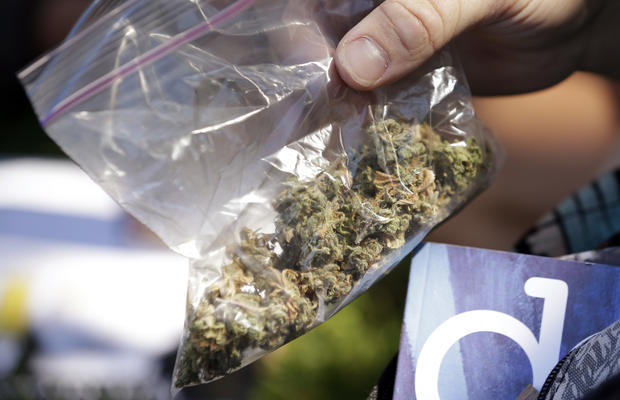 "Police hand out snacks at ""Hempfest"""