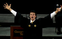 Student stuns at Georgia Tech with epic welcome speech