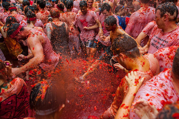 Spain's saucy food fight