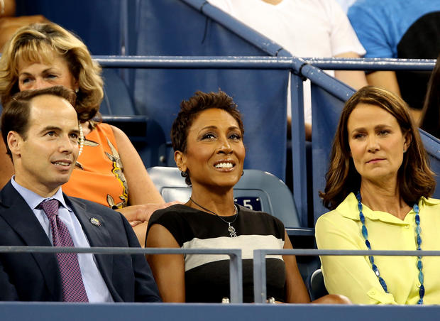 Stars at the U.S. Open