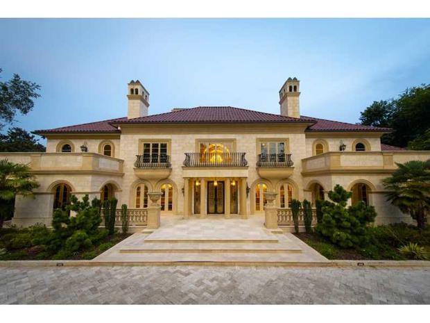 10 Biggest U S Homes On The Market Cbs News