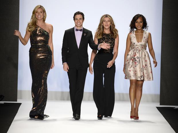 Stars at New York Fashion Week 2013