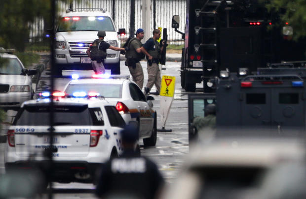 Shooting at Washington Navy Yard