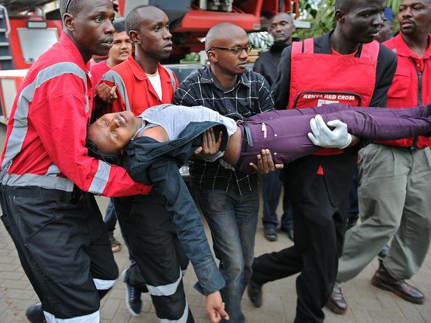 Terrorists attack shopping mall in Kenya