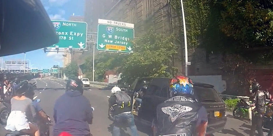 Bikers Video Nyc Watch Biker gang chases