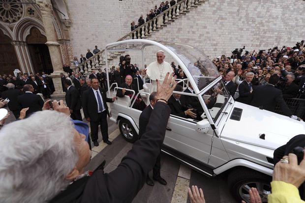 Pope Francis in Assisi