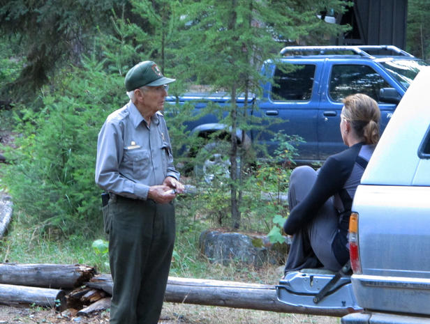 Nation's oldest park ranger