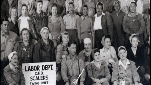 铆钉第二次世界大战