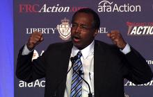 "Ben Carson: Obamacare ""worst thing"" since slavery"