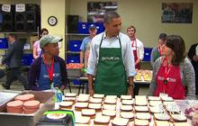 Obama thanks gov't workers volunteering while furloughed