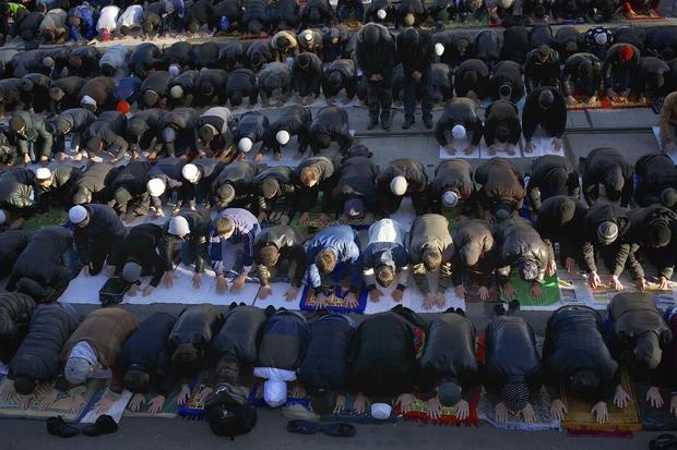 "Muslims mark ""Feast of the Sacrifice"" holiday"