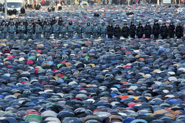 "Muslims mark ""Feast of the Sacrifice"" holiday"