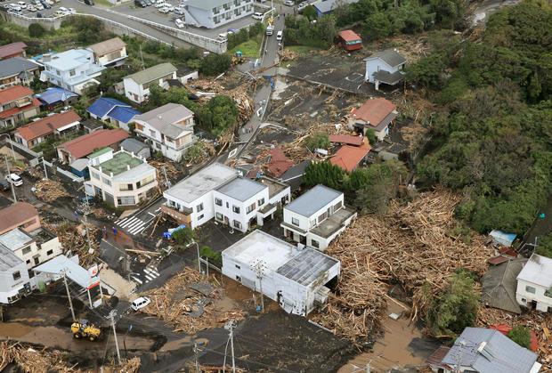 Deadly typhoon strikes Japan