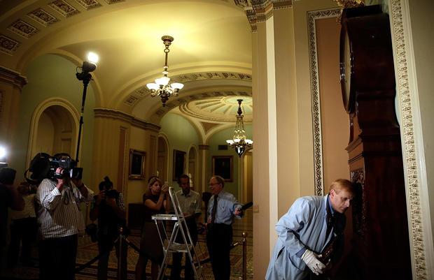 Washington back to work
