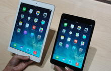 Apple unveils new iPad Air, iPad mini