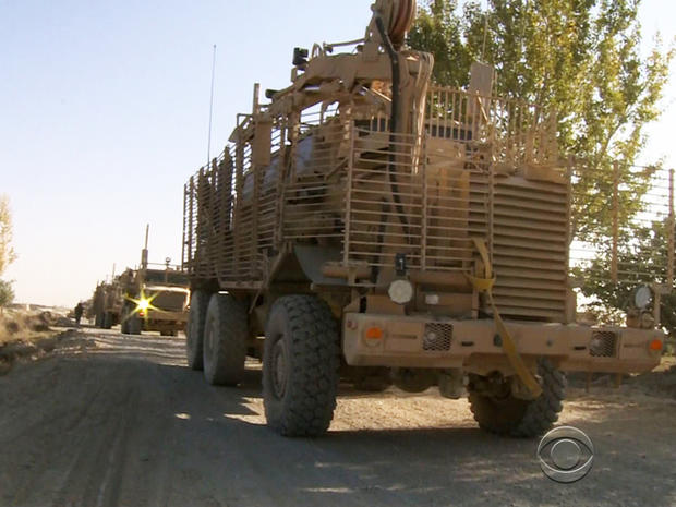 U.S. combat engineers will be safeguarding every inch of every road traveled by tens of thousands of U.S. troops and hundreds of tons of equipment.