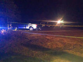 Authorities at scene of apparent quintuple murder/suicide in Greenwood Count, S.C. Oct. 29, 2013